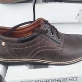 Мужские туфли Comfort Натуральная кожа