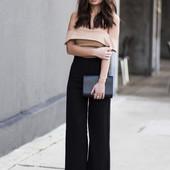 Модные брюки кюлоты с-м