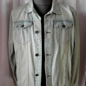 Джинсовая мужская куртка C&A, разм 52-54 наш