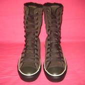 Фирменные кожаные кеды Converse (оригинал) - 5 (37,5) размер