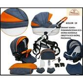 Универсальная коляска 2в1 Mikrus Cruiser New 19B Микрус