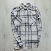 Новая стильная тоненькая рубашка для парня или папы. H&M. Размер 44 (UK 18)