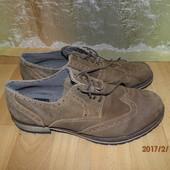 (№і512)замшевые туфли 29 ст UK 8