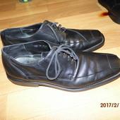 (№516)фирменные кожаные туфли ст.28,5 Lloyd