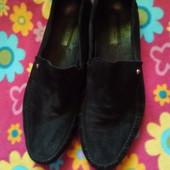 замшевые туфли макасины Antinio Biaggi