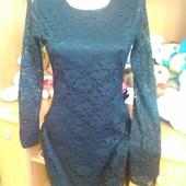 Красивое кружевное платье, фирменное
