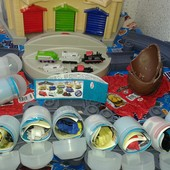 Chuggington Чаггингтон паровозики игрушки Киндер. УП 10 грн