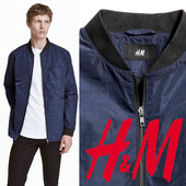 Легкая демисезонная куртка для мужчин xs, s, m, l фирмы H&M Швеция