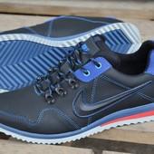 Мужские кроссовки Nike натур кожа