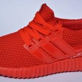 Кроссовки адидас ультра adidas ultra boost red красные синие черные