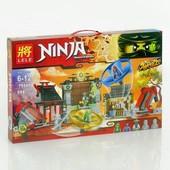 """Конструкторы ninja """"Боевая площадка для аэроджитцу"""" и """"хаос в х-пещере самураев"""""""