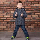 Куртка - жилетка 2 в 1 демисезонная I-Tish 3 цвета 104,110,116 размеры