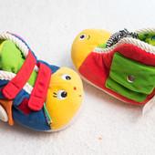 развивающая игрушка, тапочки ki kids