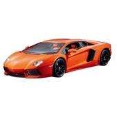 Автомобиль радиоуправляемый - Lamborghini Aventador Lp 700-4 оранжевый, 1 16
