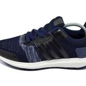 Кроссовки Adidas ultra boots l2 синие (реплика)