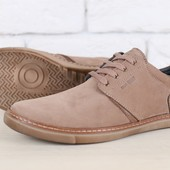 Туфли нубук натуральная кожа стильные В24362