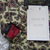 Галстук шелк House of Fraser Новый