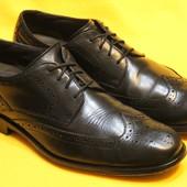 Туфли, броги перфорированные Clarks р.43 - 44 стелька 29 см