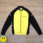 Куртка для велоспорта р. M с задними карманами. Состояние новой. спортивная, кофта, олимпийка