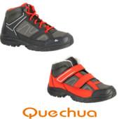 Демисезонные ботинки Quechua Decathlon 25-38 размер