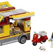 Lego City Фургон-пиццерия great vehicles pizza van 60150