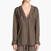 Кофта блуза в пижамном стиле Н&М, L