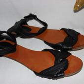 40 26,5см River Island Босоножки кожаные сандалии