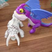 Игрушки из Макдональдса драконы 2 штуки