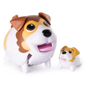 Набор Собачка с щеночком Chubby Puppies интерактивная Spin Master