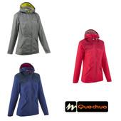Водонепроницаемая женская куртка Quechua Decathlon