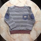 Стильный свитер на мальчика фирмы Rebel размер 98/104 на возраст 3-4 года