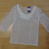 Нежная белая блуза  Per Una