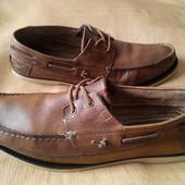 Мокасины кожаные Bertie р.44-28.5см