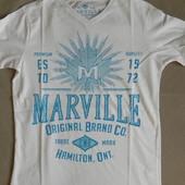 Новые мужские футболки оптом от 7шт бренд Marville