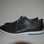 синие кожаные туфли Colonys, р. 45