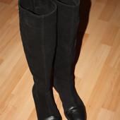 Женские сапоги Nivelle 40-41 размер натуральный замша