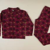 Пижама фланелевая  FCB  9-10 лет, рост 134- 140 см