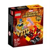 Lego Super Heroes Железный человек против Таноса 76072