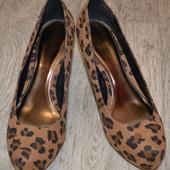 Туфли леопард р. 39-40 , ст. 25,5 см