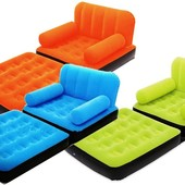 Надувное раскладное кресло BestWay 67277 3 цвета