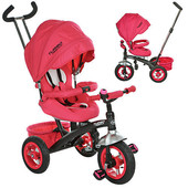 Детский трехколесный велосипед Turbo Trike розовый