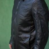 мужская кожаная куртка river island l состояние отличноей