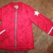 Куртка деми на девочку 7-8 лет
