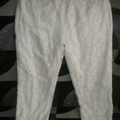 Оригинальные гипюровые летние брюки Boohoo (Буху)46-48р., смотрим замеры.
