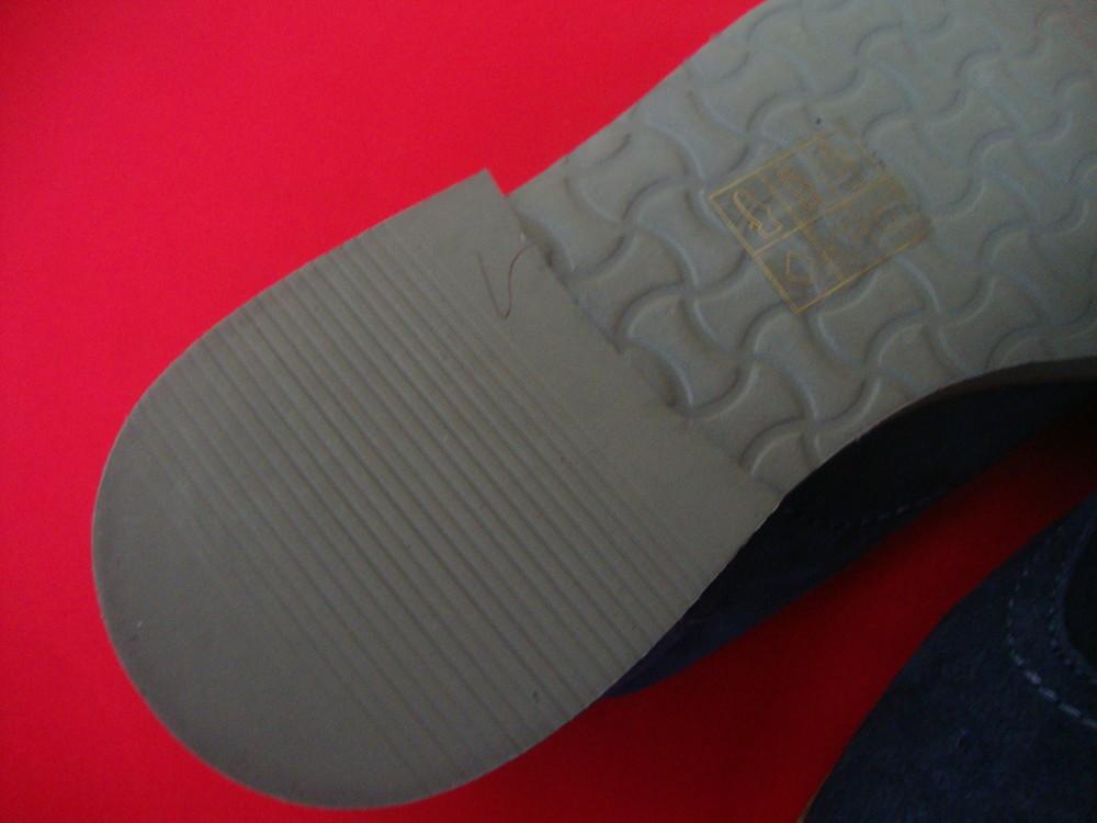 Туфли броги tu blue натур замша 42 разм фото №4
