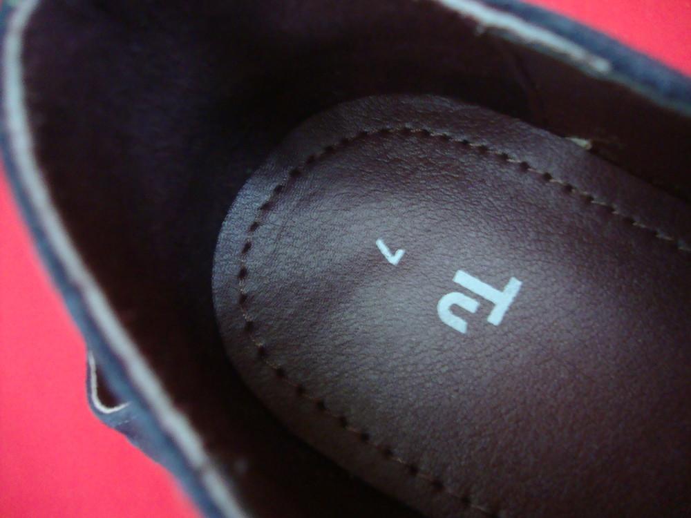Туфли броги tu blue натур замша 42 разм фото №6