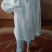 Мужская рубашка рубаха 48-50 Emidio Tucci Испания