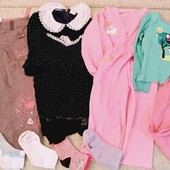 Штаны платье костюм пижама носки девочке 5-6 лет , 110-116 см рост