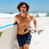 Классные пляжные шорты от тсм Tchibo размер M L