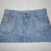 M-L, поб 48-50, юбка джинсовая House of Denim классическое мини